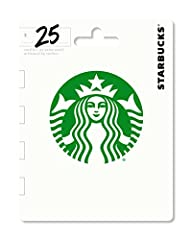 A Starbucks Card is Always Welcome. Starbucks Cards redeemable at most Starbucks locations. Packaging design may vary No returns and no refunds on gift cards. It's a great way to treat a friend. It's a convenient way to pre-pay for your own regular p...