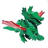 MinifigurePacks: Lego Castle - Dragon Knights Classic Green Dragon 'MAJISTO's Dragon w Red Wings'