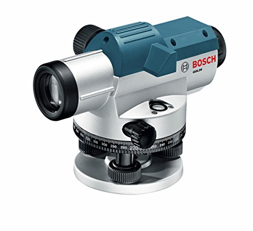 BOSCH 26X Automatic Optical Level GOL26, Blue, Large