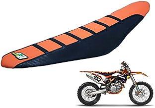 Funda de asiento para Dirt Bike motocicleta Fit 85 105 125 150 200 250 300 350 450 500 525 SX SXF EXC XCW 11-15