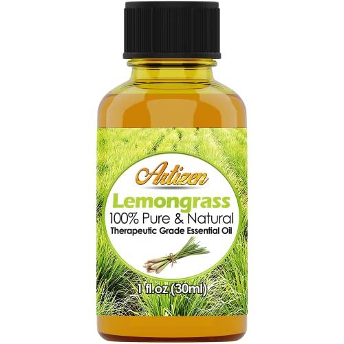 Artizen Lemongrass Essential Oil (100% Pure & Natural -...