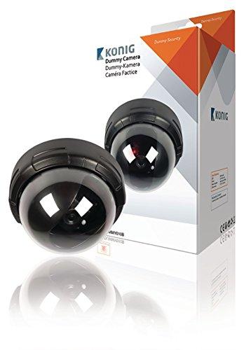 Buy Konig Dome Dummy Camera IP44 Black