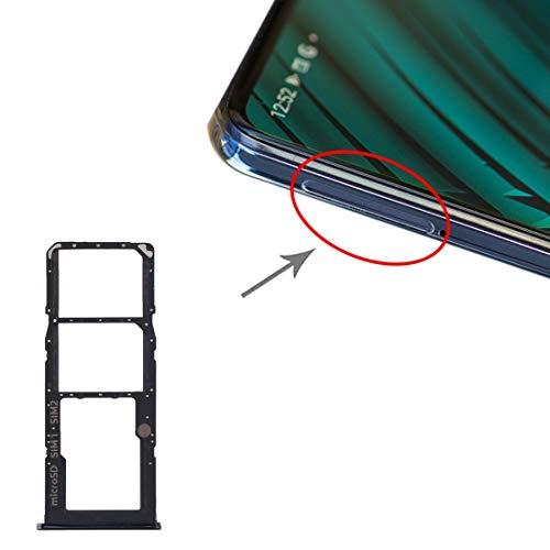 YGMO ZMD ACD Tarjeta SIM Bandeja + Bandeja de Tarjeta SIM + Micro SD Bandeja de Tarjeta for Samsung Galaxy Galaxy A51 A71 / (Negro) (Color : Pink)