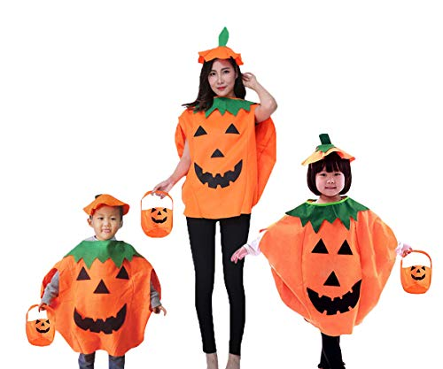 QBSM Baby Halloween Pumpkin Costume Suit Party Clothing Cute Clothes Toddler Boys Girls