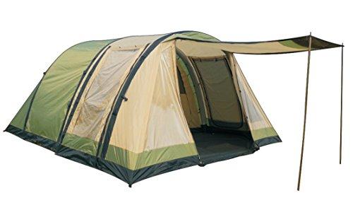 Marechal Air tunneltent Oleron 4 tent opblaasbaar unisex volwassenen, groen/beige