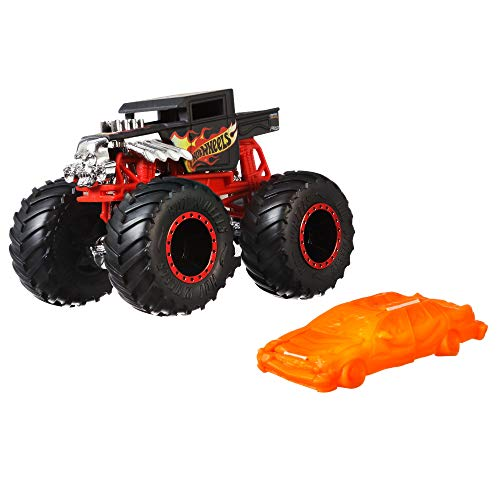 Hot Wheels Monster Trucks coches de juguetes 1:64 Bone Shaker (Mattel GNJ57) , color/modelo surtido