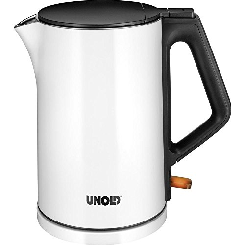 Unold 18520 Hervidor de agua, color blanco brillante