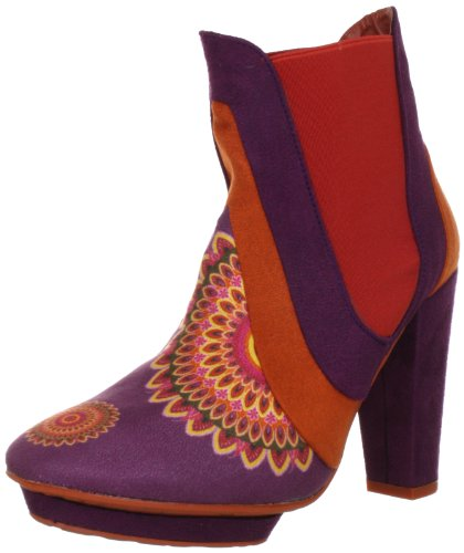 Desigual Damen Shoe_Ankle Boot Roma Fashion Halbstiefel & Stiefeletten, Orange (Naranja Tierra 7015), 36 EU