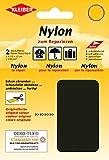 Kleiber + Co.GmbH Nylon-Flicken, 100% Polyamid, Dunkelbraun, ca. 10 cm x 12 cm