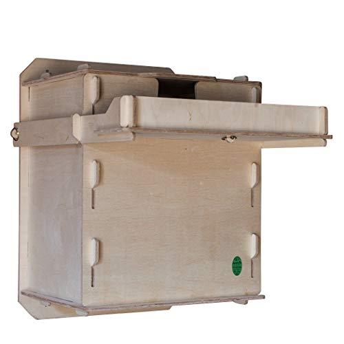 Callow Retail Wooden Interior Scheune Eule Nest Box, Selbstmontage