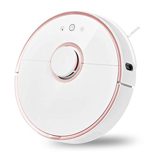 Sale!! Robotic Vacuum and Mop Cleaner, 2000Pa Super Power Suction &Wi-Fi Connectivity and Smart Navi...