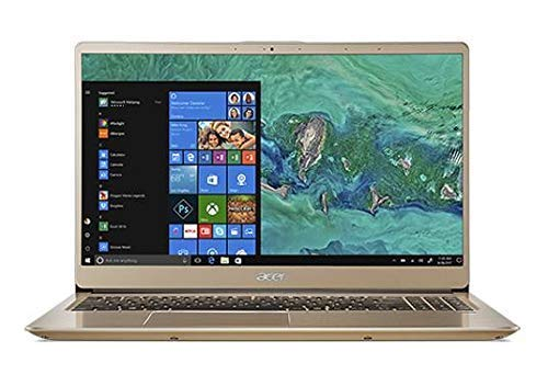 Acer Swift 3 SF315-52 Slim Laptop in Gold 8th Gen. Quad Core...