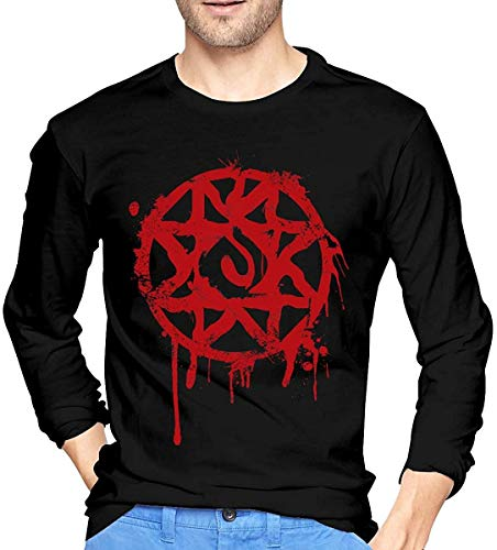 Ghghdfysdds Boku No Pico is The Best Anime Long Sleeve Cotton T Shirt for Men Black,Style3,Small