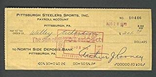 pittsburgh steelers personal checks