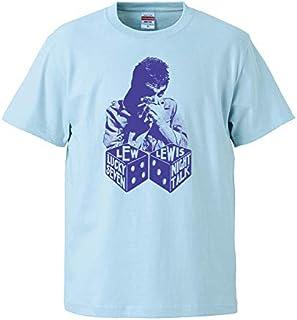 クロマニヨンズ 甲本ヒロト着用【Lew Lewis-ルー・ルイス/Lucky Seven】5.6オンス Tシャツ/BL/ST- 172