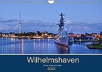 Wilhelmshaven - Sonne, Kueste und Meer (Wandkalender 2022 DIN A4 quer): Maritime Aufnahmen der schoenen Stadt am Jadebusen (Monatskalender, 14 Seiten )
