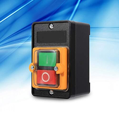 Cerlingwee Interruptor Industrial a Prueba de Agua, Interruptor de botón, para Equipos mecánicos
