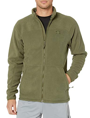 Under Armour 1279629-390 UA Tac Super Fleece Veste, Marine Od Green/Marine Od Green (390), FR : 2XL (Taille Fabricant : XXL)