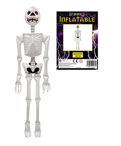Halloween gonflable Room Decoration Squelette 183cm Grand