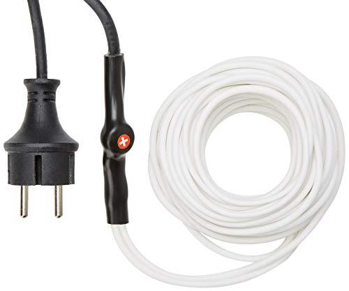 Perel 120–0T Câble anti-gel avec thermostat, 12 m de longueur.