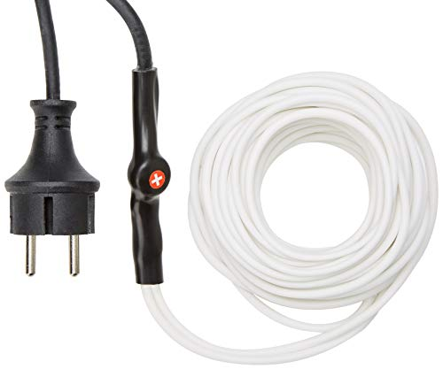 PEREL - 120-0T antivries kabel met thermostaat, 12 m lengte 138884