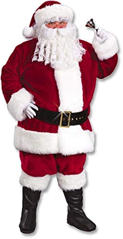 Santa Claus Deluxe Costume XL Claret Red