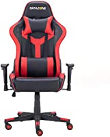 Datazone Gaming chair with adjustable armrest for player comfort Black/Red DZ-GC06