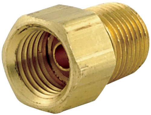 """Allstar Performance ALL50120 1/8"""" NPT to 3/8-24"""" Adapter Fitting 4 Pack"""