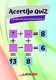 Acertijo QUIZ resuelve las ecuaciones: Libro de actividades de matemáticas Rompecabezas   busca la combinación matemática correcta y encuentra los ... matemáticas para que los niños Puzzle MATE