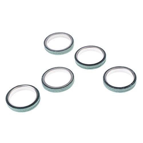 Sharplace 5 Stücke Motorrad Dichtung Auspuff Verbindung 30 mm Für Roller