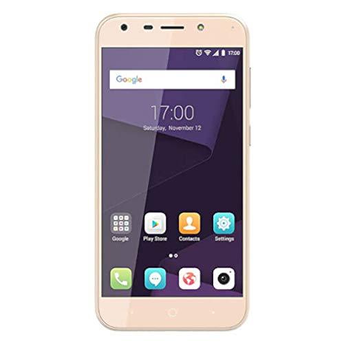 ZTE Blade A6 A0621, Smartphone de 5.2', Octa-Core 1.4GHz, 2 GB RAM, 16 GB memoria interna, cámara 16 MP, Android N, dual sim, color oro