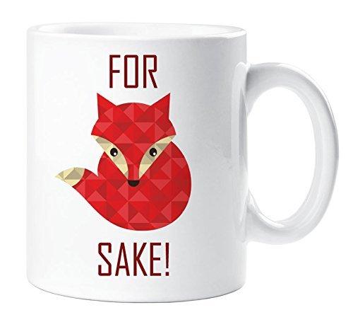 Red for Fox Sake Mug Funny Gift Cup Ceramic...