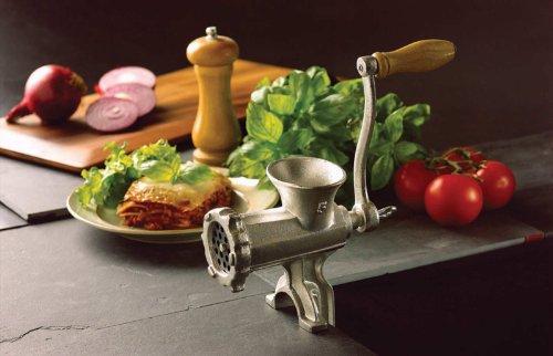 KitchenCraft Home Made No. 5 Meat Mincer Machine, Cast Iron, Medium, 27 x 22 x 9 cm