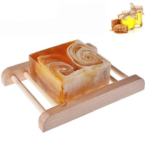 Bars à la main lait au miel Tous les ingrédients naturels bio miel non parfumé Huile essentielle bar Hydratante pour usage quotidien Offre de bijoux