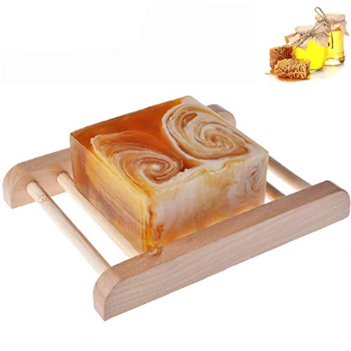 Handmade latte Bar con Ingredienti Miele All Natural Organic Honey Unscented Olio Essenziale Bar...