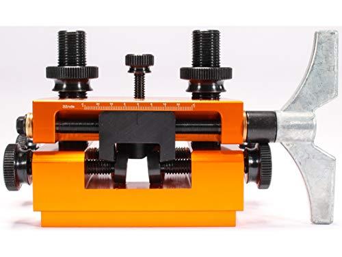 Lyman AccuSight Pistol Sight Installation Tool, 7031287, Orange, One Size