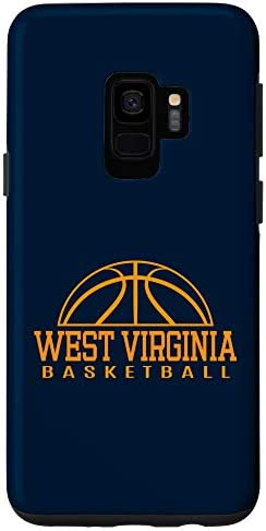 Galaxy S9 West Virginia Basketball Player W Va Team Mountaineer State Case product image