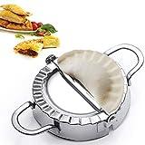 Best Utensils Stainless Steel Ravioli Mold Pierogi Dumpling Maker Wrapper Pastry Dough Cutter Kitchen Accessories (S: DIA. 3 inch)