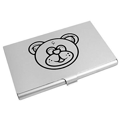 Azeeda 'Teddy Bear Head' Business Card Holder / Credit Card Wallet (CH00022552)