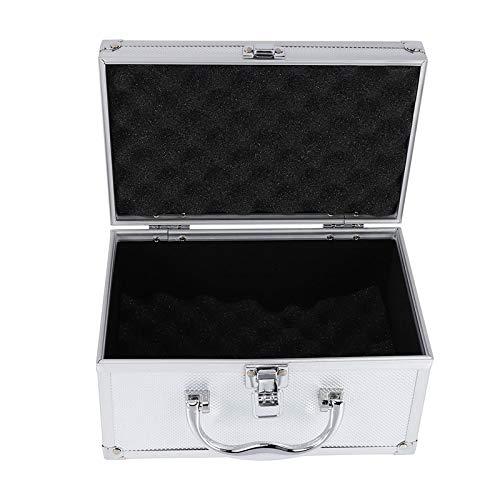 Vasko - Boote de herramientas de aleación de aluminio con equipmento de sequía, portátil, instrumento, visualización de casos, maleta de herramientas, de material 230 x 150 x 125 mm