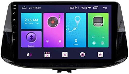 KLL Sistema Android 10.0 5 Pollici Doppio DIN Autoradio GPS per Hyundai I30 2017 con Navigazione Radio Stereo Bluetooth USB Dvd Touch Screen