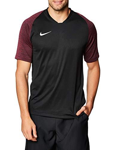 Nike Herren Trainingstrikot Dry Strike, Black/Vivid Pink/White, XL, AJ1018