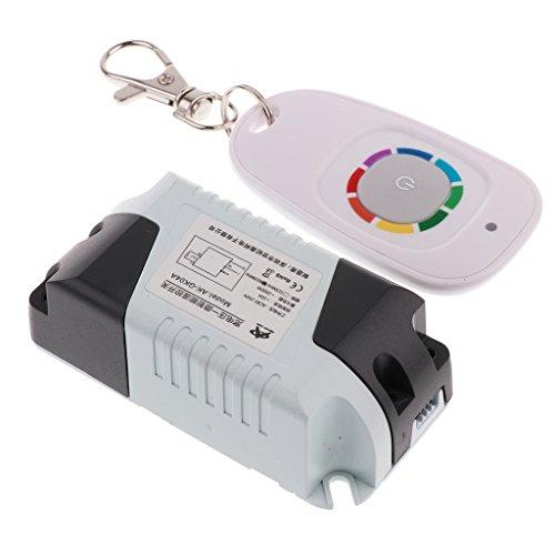 MagiDeal Dc15 - Récepteur De Télécommande sans Fil 120v Et Relais Émetteur 415mhz