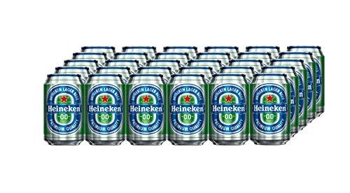 Heineken 0.0% Alkoholfrei Pils, EINWEG (24 x 0.33 l)