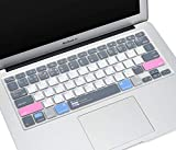 CaseBuy Premium MAC OS Shortcut Keyboard Cover for MacBook Air 13 inch 2010-2017 Release Model A1466 A1369 and 2015 or Older Version MacBook Pro 13 Inch, Pro 15 Inch A1502 A1425 A1278 A1398 A1286