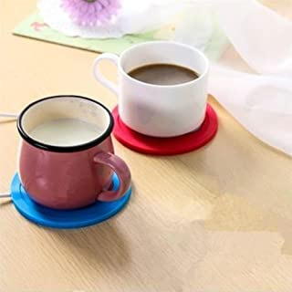 AuCatStore(TM) 5V USB Silicone Heat Warmer Heater Tea Coffee Mug Hot Drinks Beverage Cup ESC PL