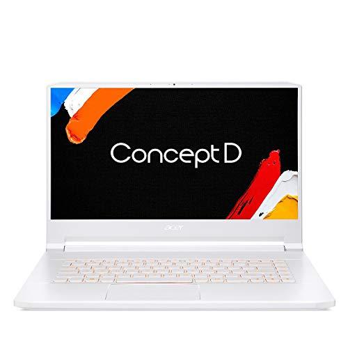 ConceptD 7 CN715-71-77QK Creator Laptop, Intel i7-9750H, NVIDIA GeForce RTX 2080 – RTX Studio, 15.6' 4K Ultra HD IPS, 100% Adobe RGB Color Gamut, Pantone Validated, Delta E
