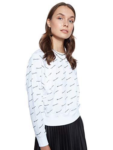 CHAMPION Damen Sweatshirt schwarz S