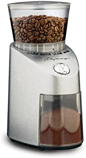 Capresso 565.05 Infinity Conical Burr Grinder, Stainless Steel