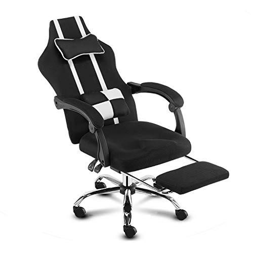 NBgydianjingyi Chaise E-sports, Chaise Esports Game, Design Inclinable, Chaise De Bureau, Convient Au Hall D'hôtel E-sports, Chaise Pivotante, Siège Boss, Chaise De Jeu, 3 Couleurs, (hauteur: 107-116c